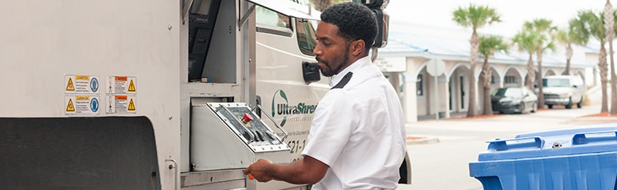 On-ste shredding services