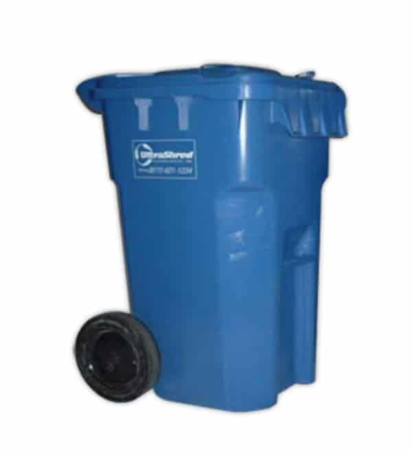 Secure Locked 64 Gallon Bin